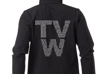 TVW - Arbeitsjacke - Textilveredelung - Referenzen | Clausen Werbung
