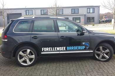 Forellensee Barderup - Fahrzeugbeschriftung